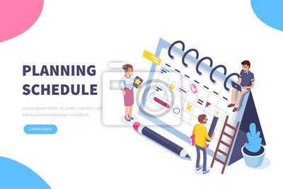 Fototapeta plánování plánu