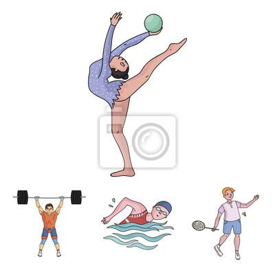 Plavani Badminton Vzpirani Umelecka Gymnastika Olympijsky