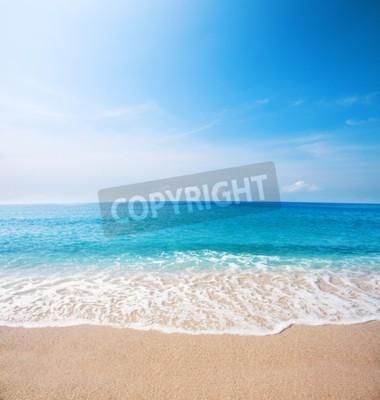 Fototapeta Pláž a krásné tropické moře