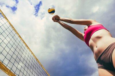 Fototapeta plážový volejbal