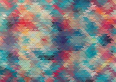 Fototapeta plochý design geometrické barevné pozadí