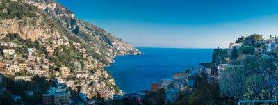 Fototapeta Pobřeží Amalfi mezi Neapolí a Salerna. Itálie
