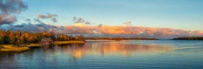 Fototapeta Podzimní slunce