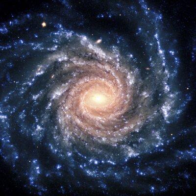 Fototapeta Pohled Galaxy systém izolován prvky tohoto obrázku zařízený NASA