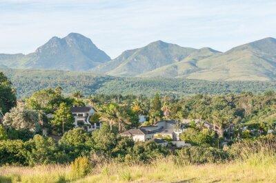 Fototapeta Pohled na George v Jižní Africe