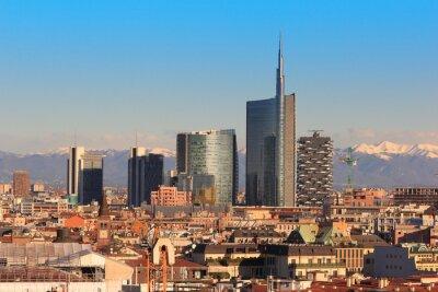 Fototapeta Pohledy Milán, Itálie