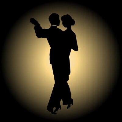 Fototapeta Pomalý tanec