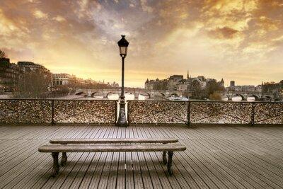 Fototapeta Pont des Arts v Paříži