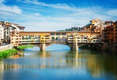 Fototapeta Ponte Vecchio, Florence, Itálie