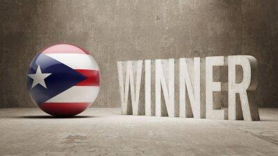 Portoriko. Vítěz Concept.
