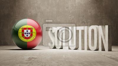Portugalsku. Solution Concept.
