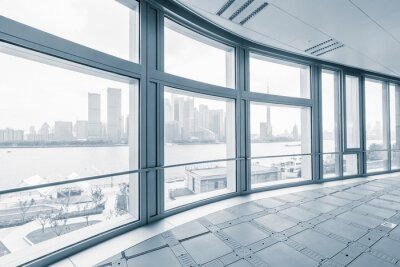 Fototapeta prázdné kanceláře pokoj v moderních kancelářských budov