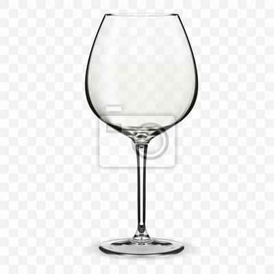 Fototapeta Prázdné sklenice na víno.