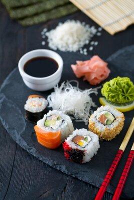 Fototapeta příprava sushi
