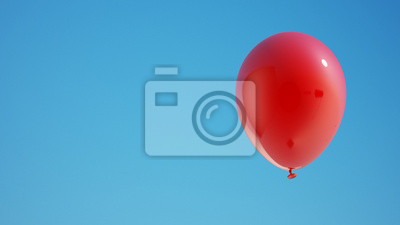 Red Balloon s ořezovou cestou