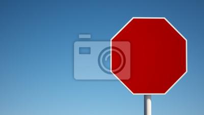 Red prázdný znak s ořezovou cestou