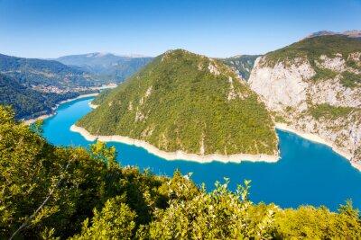 Fototapeta Řeka Piva v Černé Hoře