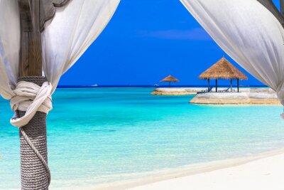Fototapeta relaxační dovolená v tropickém ráji
