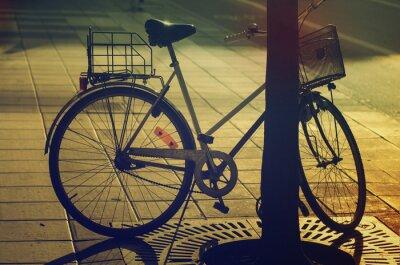 Fototapeta Retro kolo na ulici