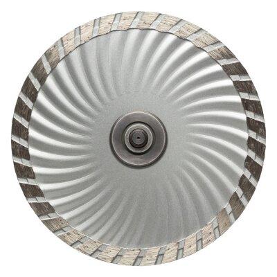 Fototapeta Řezání kamene disk