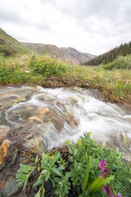 Fototapeta říční a horská