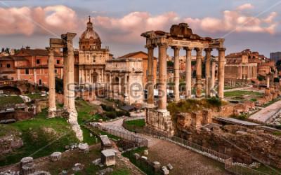 Fototapeta Římské fórum, Řím