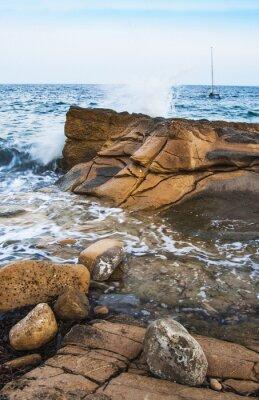 Fototapeta Rocas en La Costa