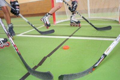 Fototapeta Roller hokej