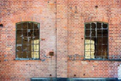 Fototapeta rozbitá okna