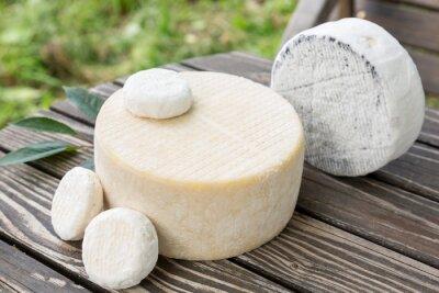 Fototapeta Rozmanité kozí sýr
