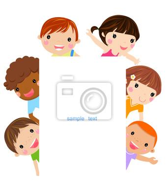 Roztomile Kreslene Deti Ram Fototapeta Fototapety Slavi Pozitivni