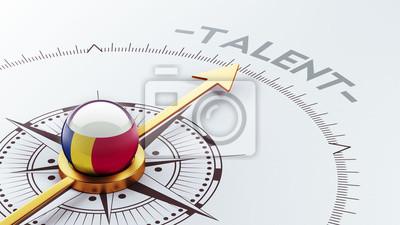 Rumunsko Talent Concept