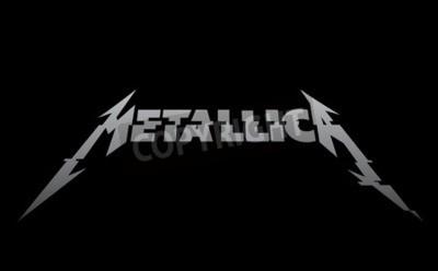 Fototapeta RUSKO - ÚNOR 09, 2017: Nové logo Metallica