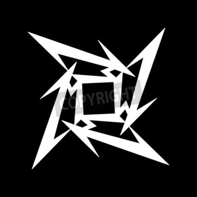 Fototapeta RUSKO - ÚNOR 09, 2017: symbol Metallica