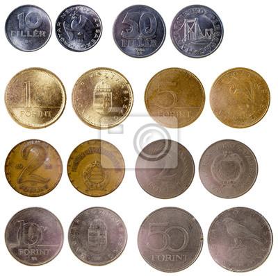 1d8d7717b Různé staré maďarské mince fototapeta • fototapety maďarština, 50 ...