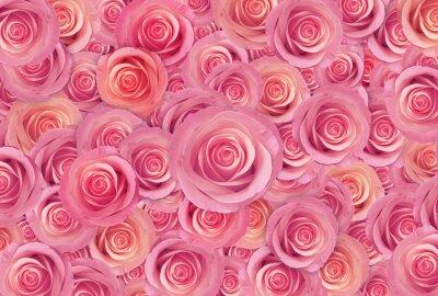 Fototapeta růžová růže květ pozadí, Šťastný Valentýn den