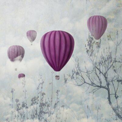 Fototapeta Růžové balónky