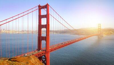 Fototapeta San Francisco, most Golden Gate
