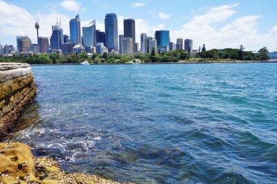 Fototapeta Scénický pohled na centrální Sydney panorama z přístavu