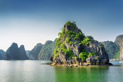 Fototapeta Scénický pohled na Ha Long Bay, v Jihočínském moři, Vietnam