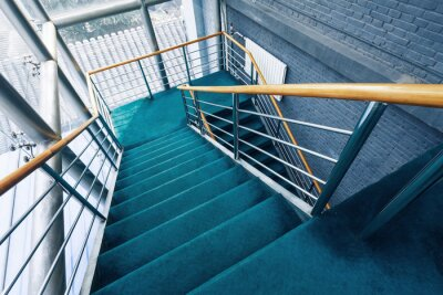 Fototapeta schody v budovách