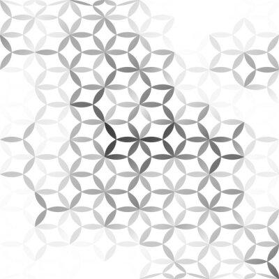 Fototapeta Šedobílá mesh pozadí, kreativní design šablony