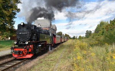 Fototapeta Selketalbahn
