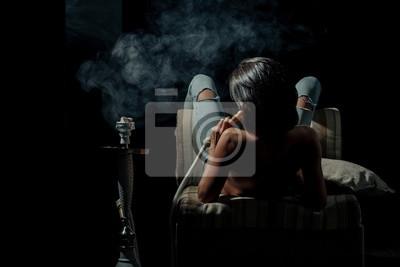 Sexy dívky kouření