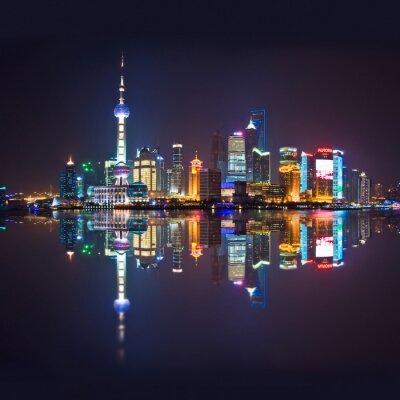 Fototapeta Shanghai panorama, Carré