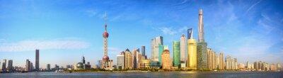 Fototapeta Shanghai panorama panorama, Čína