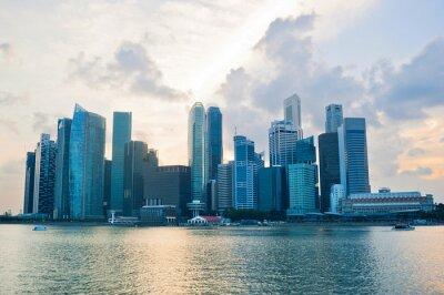 Fototapeta Singapur obchodní cener