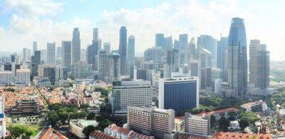 Fototapeta Singapur panorama