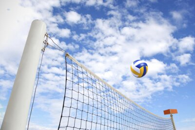Fototapeta síť na volejbal