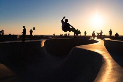 Fototapeta Skateboarding